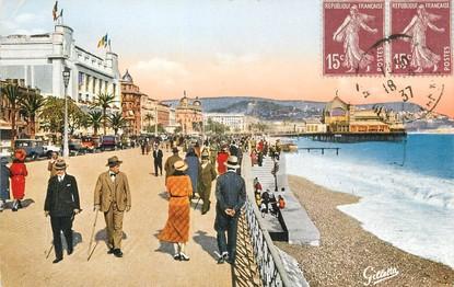 """/ CPA FRANCE 06 """"Nice, Promenade des Anglais, les casinos"""""""