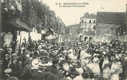 "/ CPA FRANCE 62 ""Boulogne sur Mer, la grande procession """