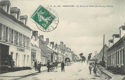 """/ CPA FRANCE 62 """"Marquise, la route de Calais"""""""