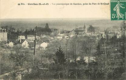 "/ CPA FRANCE 92 ""Garches, vue panoramique"""