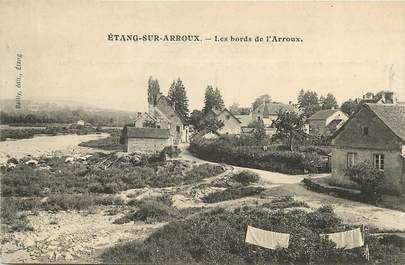 """CPA FRANCE 71 """"Etang sur Arroux"""""""