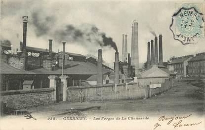 """/ CPA FRANCE 58 """"Guérigny, les forges de la Chaussade"""""""