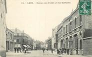 """62 Pa De Calai / CPA FRANCE 62 """"Lens, bureau des postes et rue Berthelot"""""""