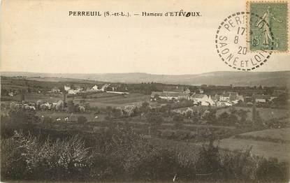"""CPA FRANCE 71 """"Perreuil, Hameau d'Etevoux"""""""