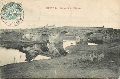 "CPA FRANCE 71 ""Epinac"""