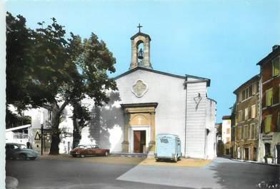 """/ CPSM FRANCE 30 """"Saint Jean du Gard, l'église"""" / CITROEN"""