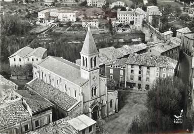 """/ CPSM FRANCE 30 """"Saint Ambroix, place de l'église"""""""