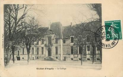 """/ CPA FRANCE 17 """"Saint Jean d'Angély, le Collège"""""""