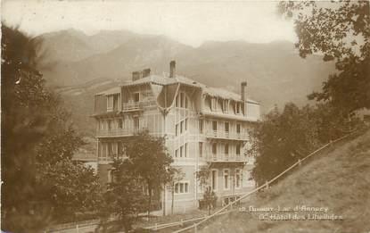 """CPA FRANCE 74 """"Duingt, Lac d'Annecy, grand Hôtel des Libellules"""""""
