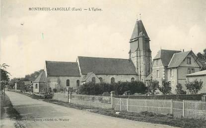 """CPA FRANCE 27 """"Montreuil l'Argillé,  l'Eglise"""""""