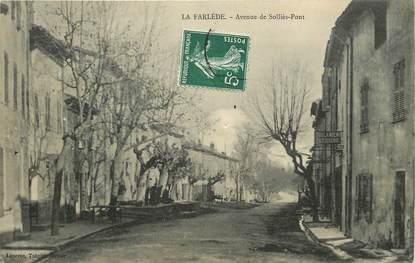 """CPA FRANCE 83 """"La Farlède, avenue de Solliès Pont"""""""