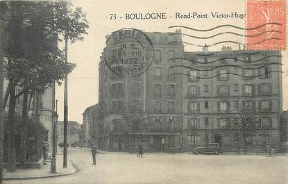 "/ CPA FRANCE 92 ""Boulogne, rond point Victor Hugo'"