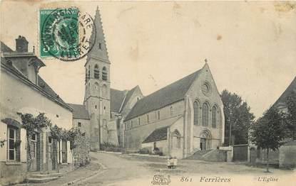 """/ CPA FRANCE 45 """"Ferrières, l""""église"""""""