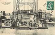 "76 Seine Maritime / CPA FRANCE 76 ""Rouen, pont transbordeur"""