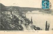 """76 Seine Maritime / CPA FRANCE 76 """"Orival, le pont et les rochers d'Oissel"""""""