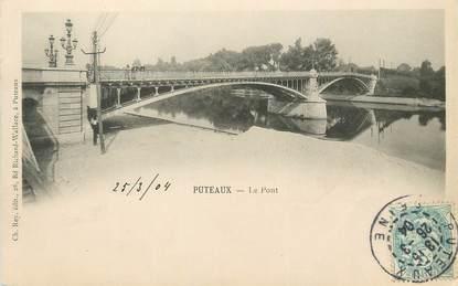 """/ CPA FRANCE 92 """"Puteaux, le pont"""""""