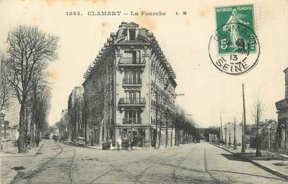 """/ CPA FRANCE 92 """"Clamart, la fourche"""""""