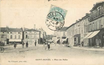 """/ CPA FRANCE 55 """"Saint Mihiel, place des Halles"""""""