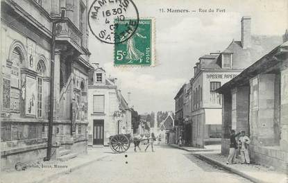 """/ CPA FRANCE 72 """"Mamers, rue du fort"""""""