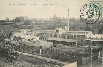 """/ CPA FRANCE 61 """"La Ferté Macé, l'usine Salles"""""""