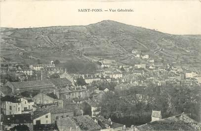 """CPA FRANCE 34 """"Saint Pons, vue générale"""""""