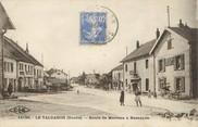 """25 Doub / CPA FRANCE 25 """"Le Valdahon, route de Morteau à Besançon"""""""