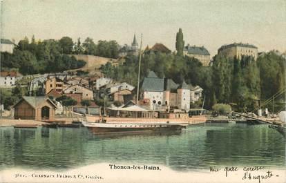 """CPA FRANCE 74 """"Thonon les Bains"""""""