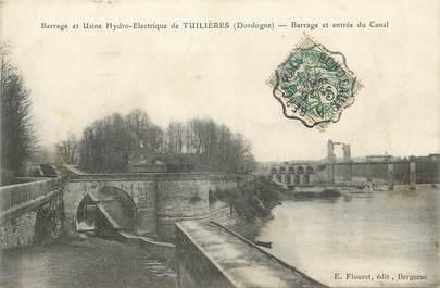 """/ CPA FRANCE 24 """"Thuilières, Barrage et usine Hydro Electrique"""" / CACHET AMBULANT"""