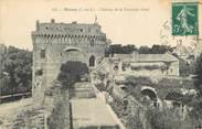 """22 Cote D'armor / CPA FRANCE 22 """"Dinan, château de la Duchesse Anne"""""""