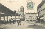 "47 Lot Et Garonne / CPA FRANCE 47 ""Marmande, place du marché"""