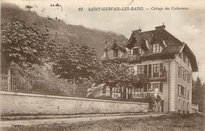 "CPA FRANCE 74 ""Saint Gervais les Bains"""