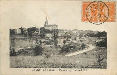 """/ CPA FRANCE 46 """"Lalbenque, panorama"""""""