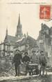 """68 Haut Rhin / CPA FRANCE 68 """"4 poilus devant les ruines de Thann"""" / MOTO"""