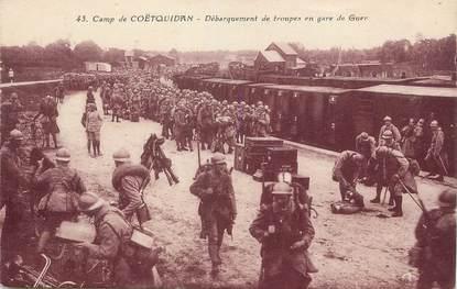 """/ CPA FRANCE 56 """"Camp de Coëtquidan"""" / MILITAIRE"""
