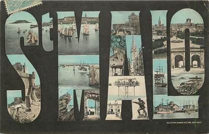 """CPA FRANCE 35 """"Saint Malo"""" / Nom de la ville"""