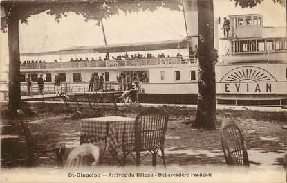 """CPA FRANCE 74 """"Saint Gingolph"""""""