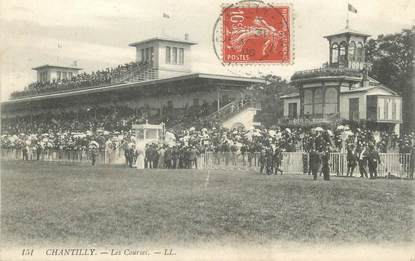 """/ CPA FRANCE 60 """"Chantilly, les courses"""""""