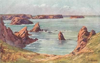 """CPA FRANCE 56 """"Belle Ile en Mer, Baie de Goulphar"""""""