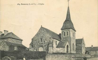 "CPA FRANCE 35 ""Romazy, l'Eglise"""