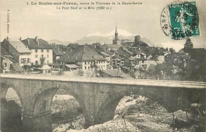 """CPA FRANCE 74 """"La Roche sur Foron"""""""