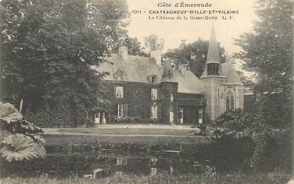 """CPA FRANCE 35 """"Chateauneuf d'Ille et Vilaine, le chateau de la Basse Motte"""""""
