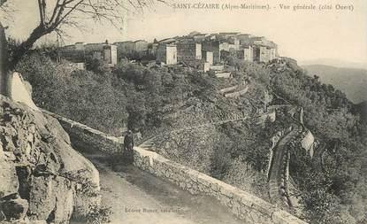 """CPA FRANCE 06 """"Saint Cézaire, vue générale"""""""