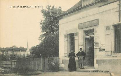 """CPA FRANCE 10 """"Mailly le Camp, la poste"""""""
