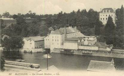 "CPA FRANCE 53 ""Mayenne, les Grands moulins"""
