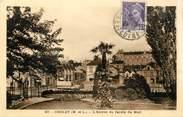 """49 Maine Et Loire / CPA FRANCE 49 """"Cholet, l'entrée du jardin du Mail"""""""