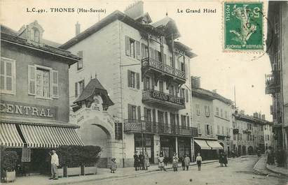 """CPA FRANCE 74 """"Thones"""""""