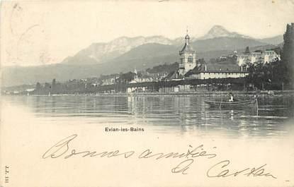 """CPA FRANCE 74  """"Evian les Bains"""""""