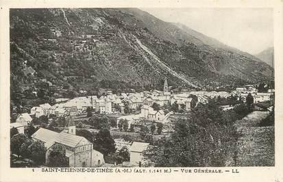 """/ CPA FRANCE 06  """"Saint Etienne de Tinée, vue générale"""""""