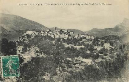 """/ CPA FRANCE 06 """"La Roquette sur Var, ligne du sud de la France """""""