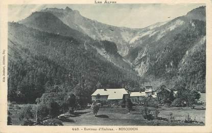 "/ CPA FRANCE 05 ""Environs d'Embrun, Boscodon"""